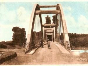 Le pont de Longwy vers 1950