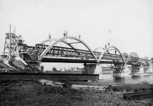 Elargissement du pont en 1934