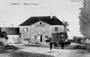 La maison commune en 1910