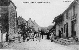 La rue du pont en 1910